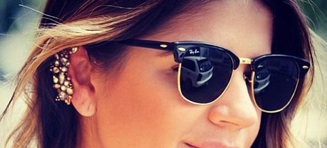 Oculos De Sol Clubmaster 3016 Preto Armação Acetato E Metal - R  170 ... 6cf8faa77f