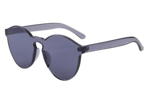 oculos de sol colorido transparente rimless diurno e noturno