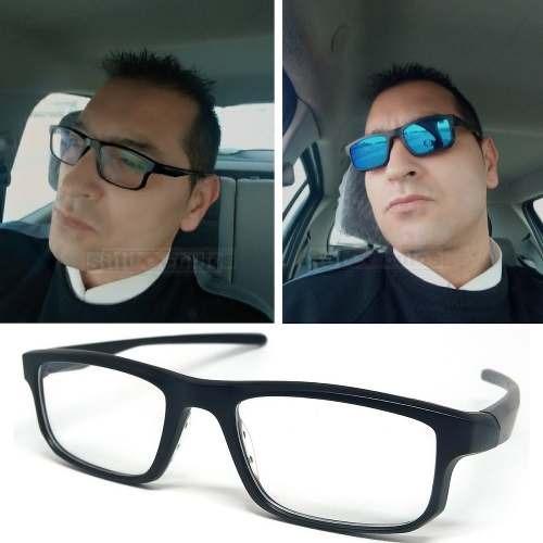 dac1f438017ff Óculos De Sol Com Armação De Grau Clip On 6 Em 1 Polarizado - R  149 ...