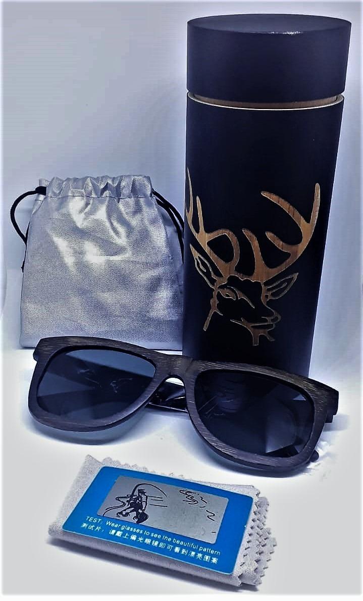 52e4bbd21 Óculos De Sol Com Armação Em Bambu E Lentes Polarizadas - R$ 119,99 ...