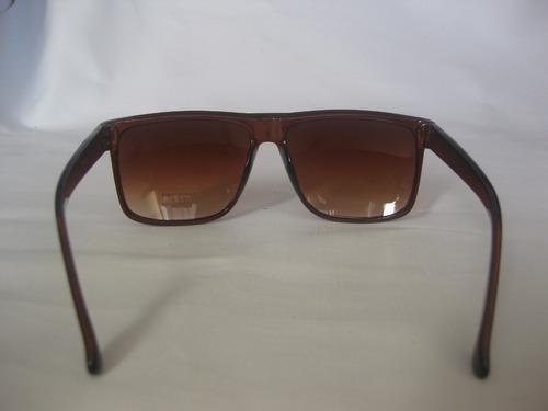 óculos  de sol com armação  maron, social com proteção uv400