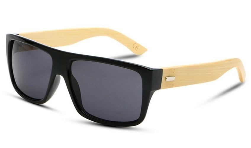 8770bddbb9657 Óculos De Sol Com Caixinha Personalizada Preto Fosco - R  158