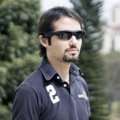 Óculos De Sol Com Câmera Sport Hd - Leadership - R  199,90 em ... cbc5506ef8