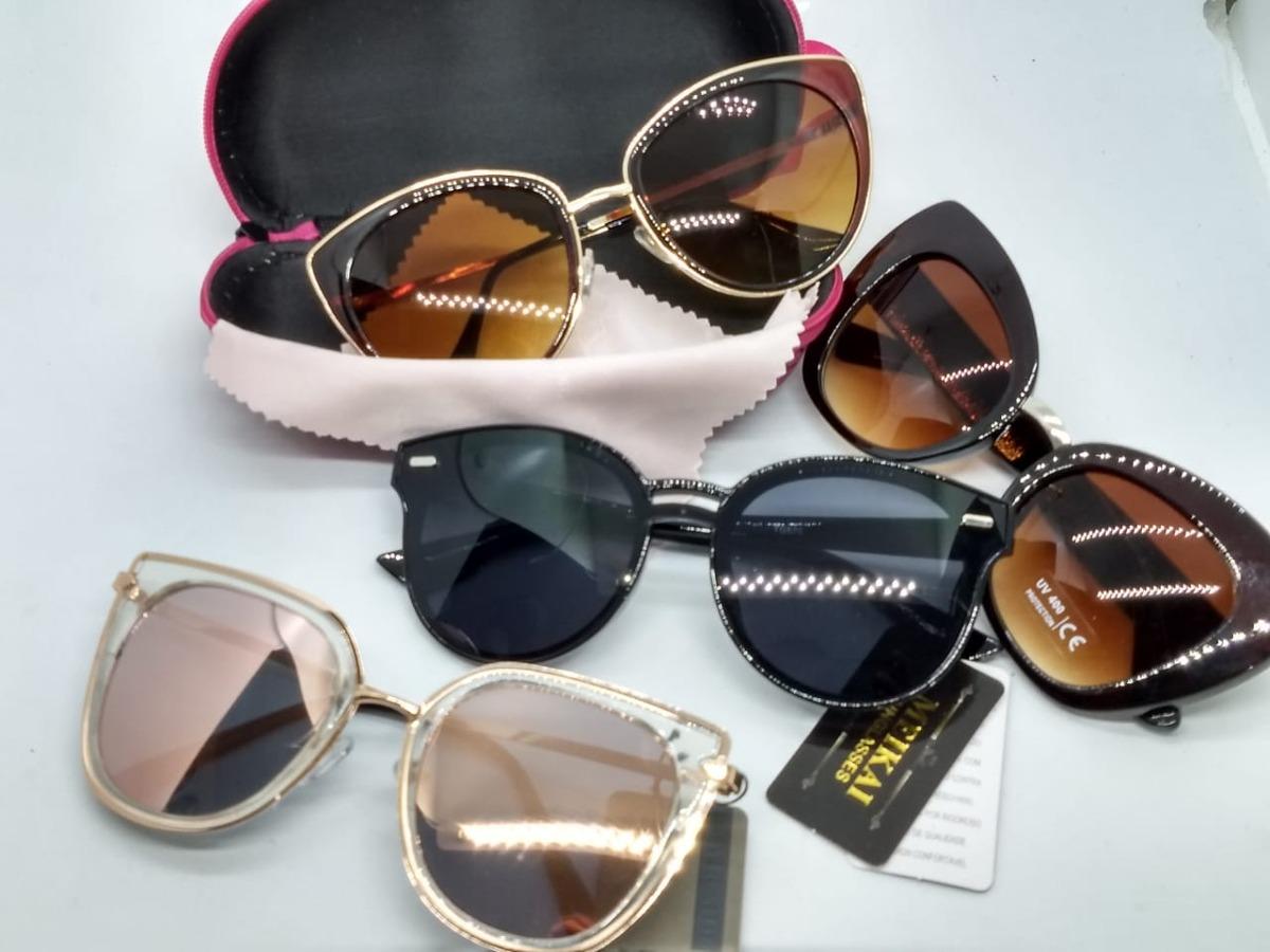 d78e56ca7 Óculos De Sol Com Estojo E Flanela Atacado Kit Com 10 - R$ 159,90 em ...