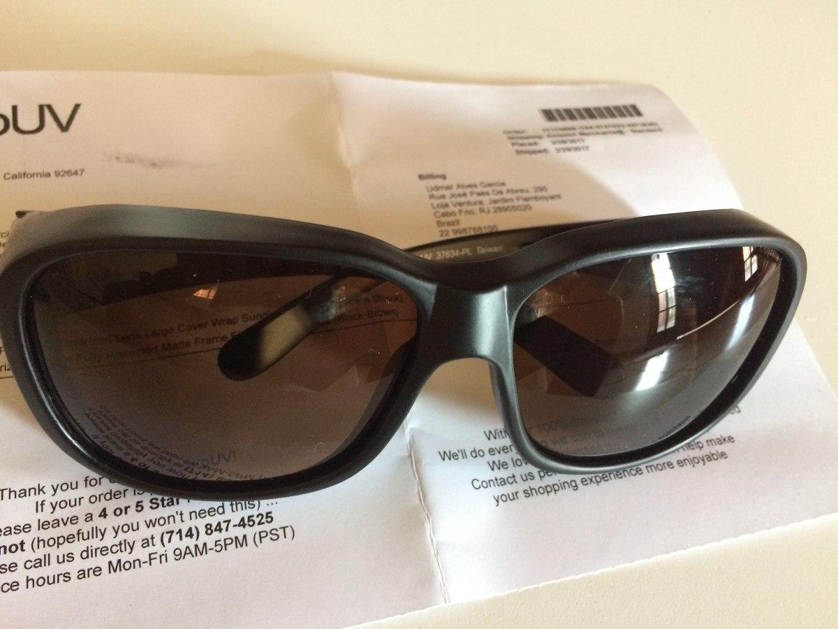 04434daf125a8 Óculos De Sol Com Lentes Polarizadas