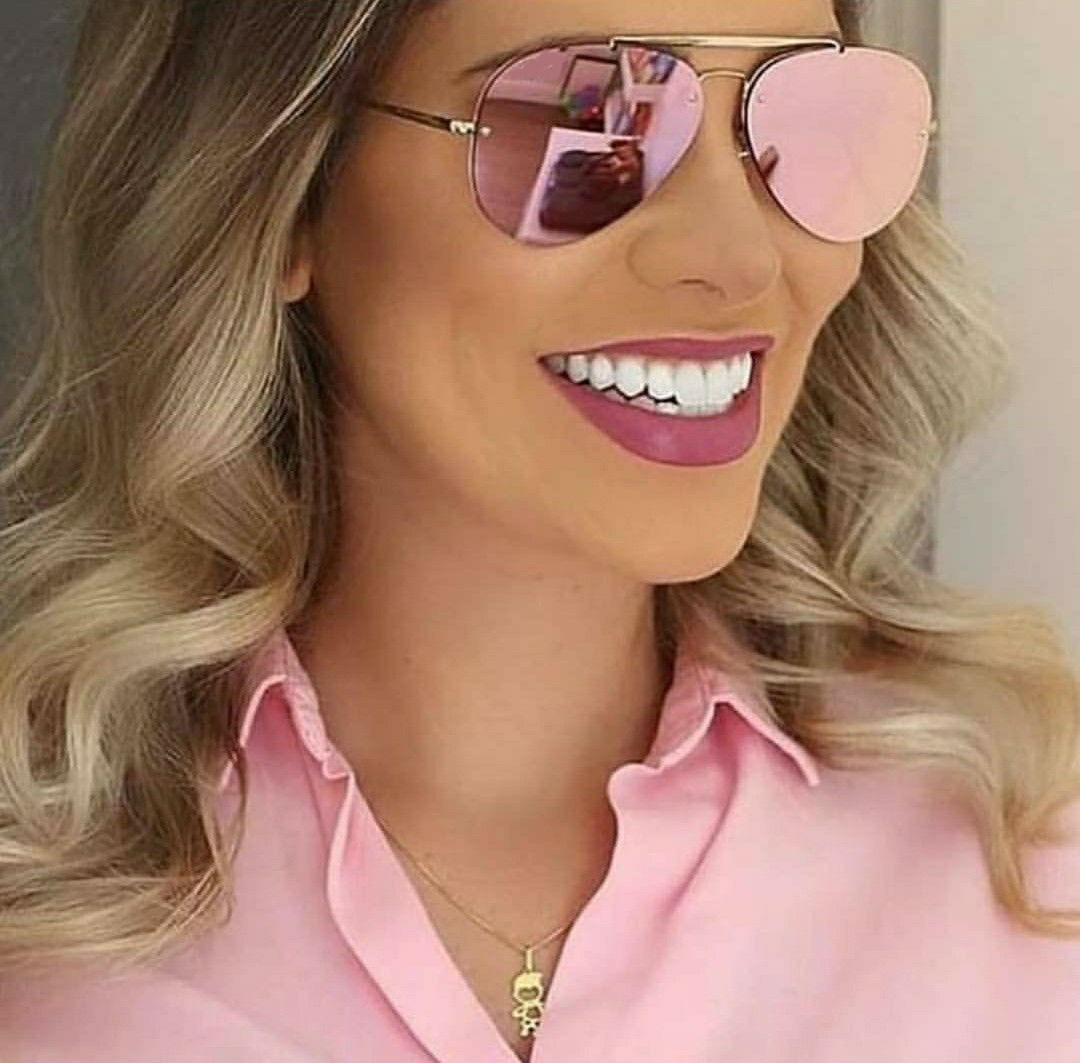 4aa67b238 óculos de sol com proteção uv espelhado rose feminino barato. Carregando  zoom.
