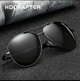 585195fc0 Óculos De Sol Com Utra-proteção Uv400 Polarizado Masculino