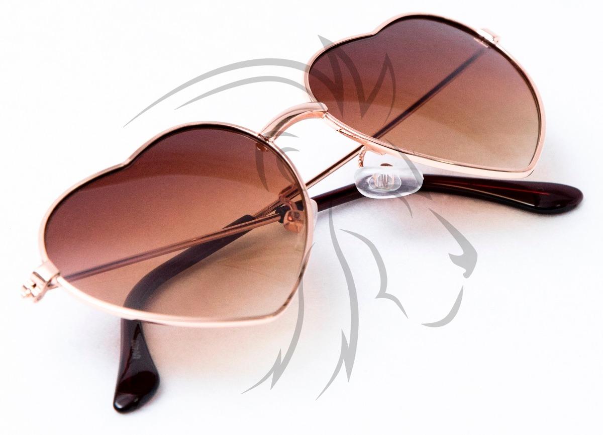 óculos de sol coração infantil e juvenil lentes com uv400. Carregando zoom. 2008000c1e
