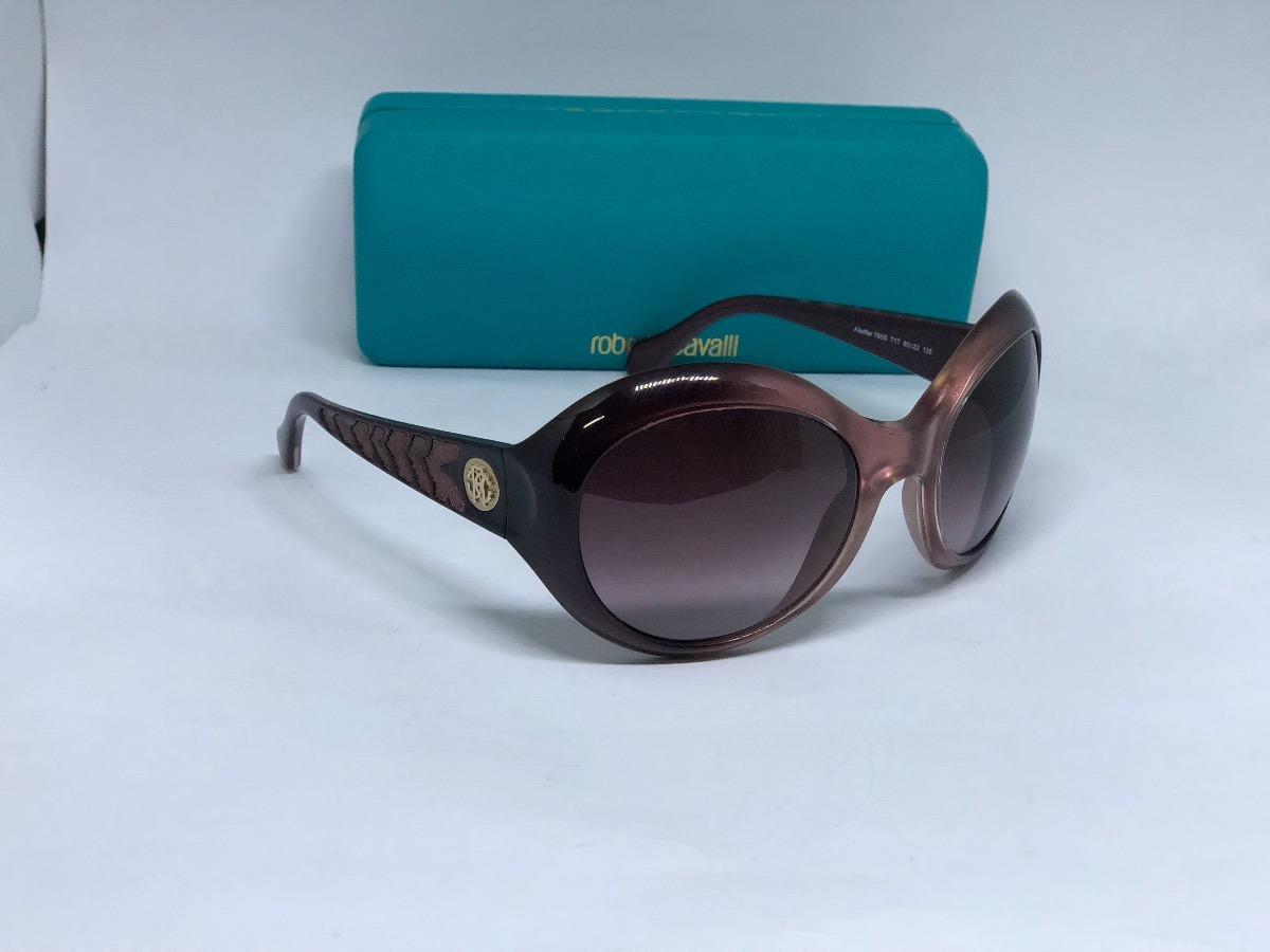 35ca572d73f11 Oculos De Sol Da Grife Roberto Cavalli Modelo Aladfar - R  439,00 em ...