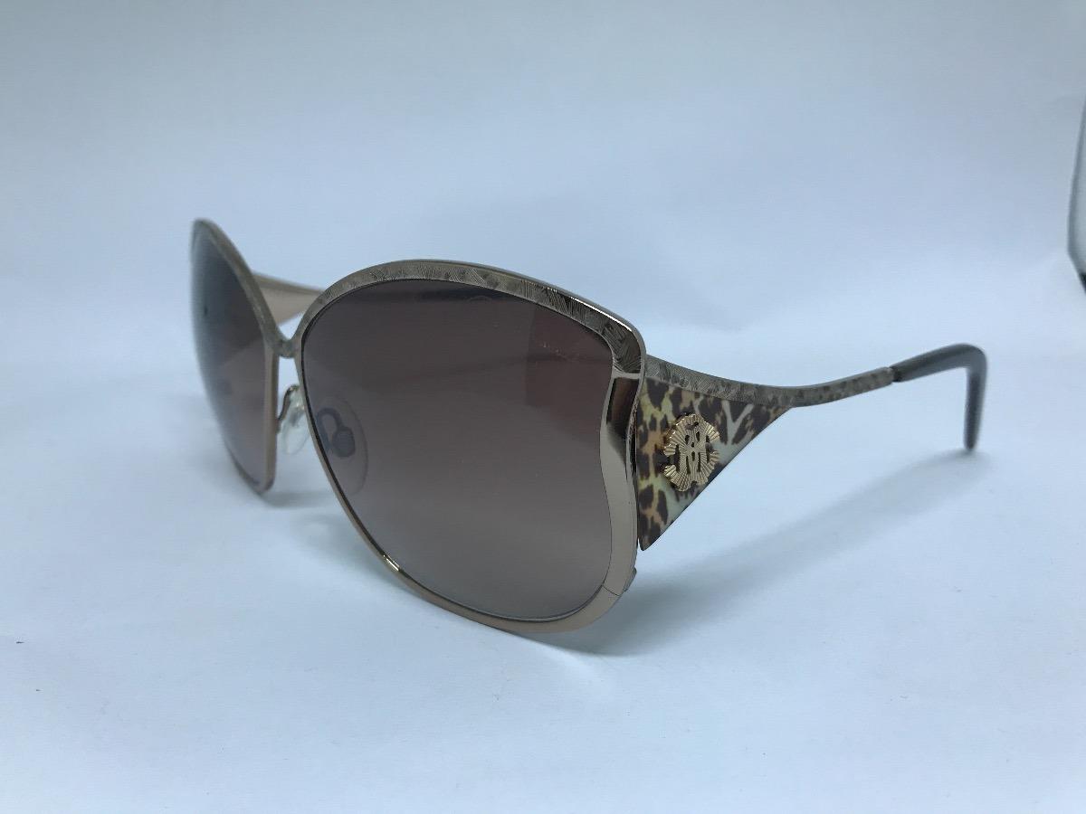 Oculos De Sol Da Grife Roberto Cavalli Modelo Mughetto - R  260,00 ... 36066120f3