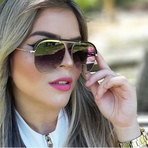 óculos de sol de qualidade marca famosa quadrado grande luxo