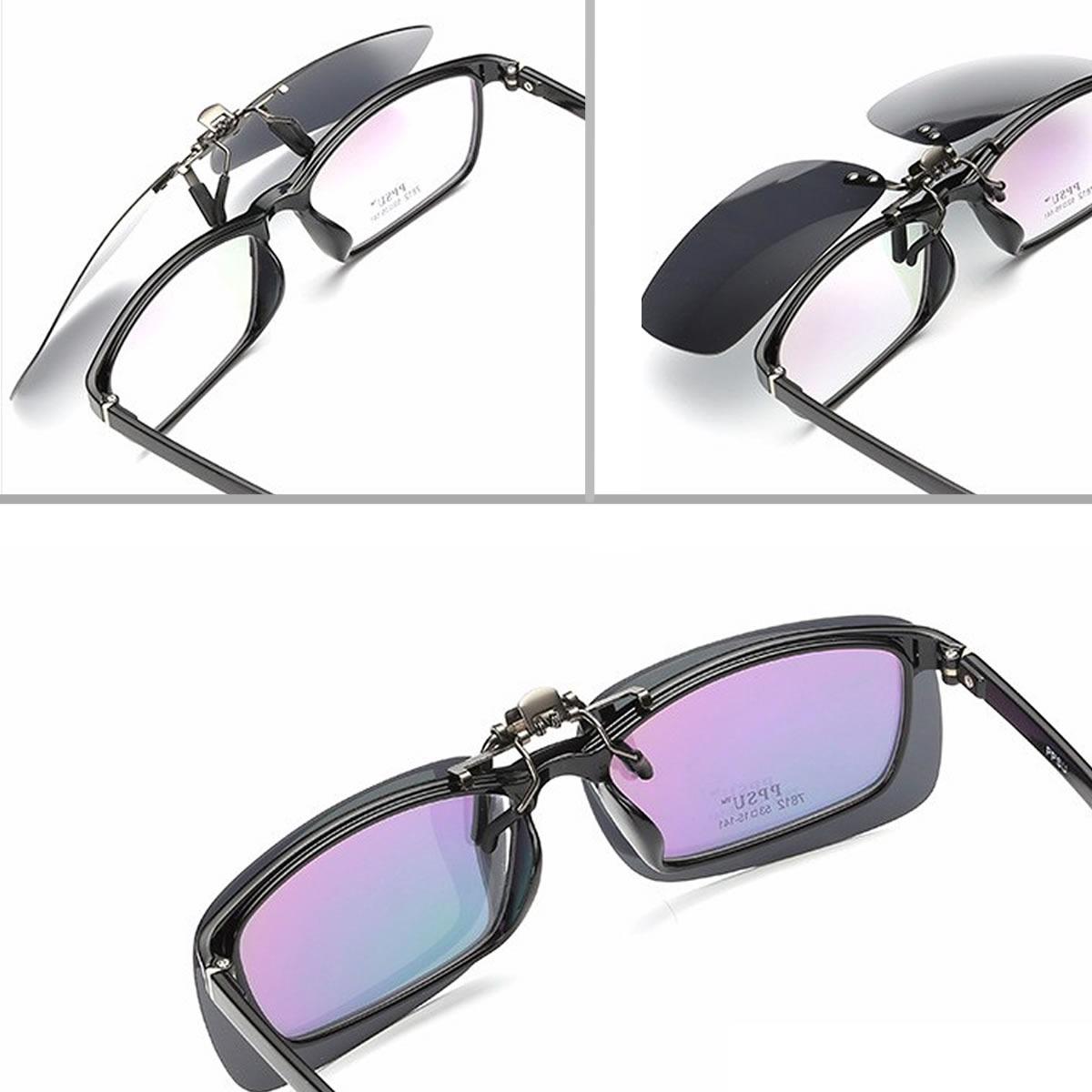 cfbebb3c1 óculos de sol de sobrepor clip on lente uv400 e polarizado. Carregando zoom.