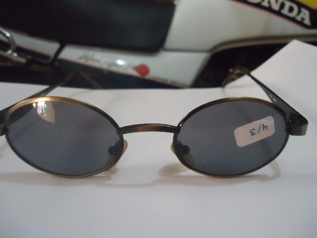 5d9fcf2d8fb53 Óculos De Sol Design Italy 3900 Vintage Anos 80 Original N06 - R ...