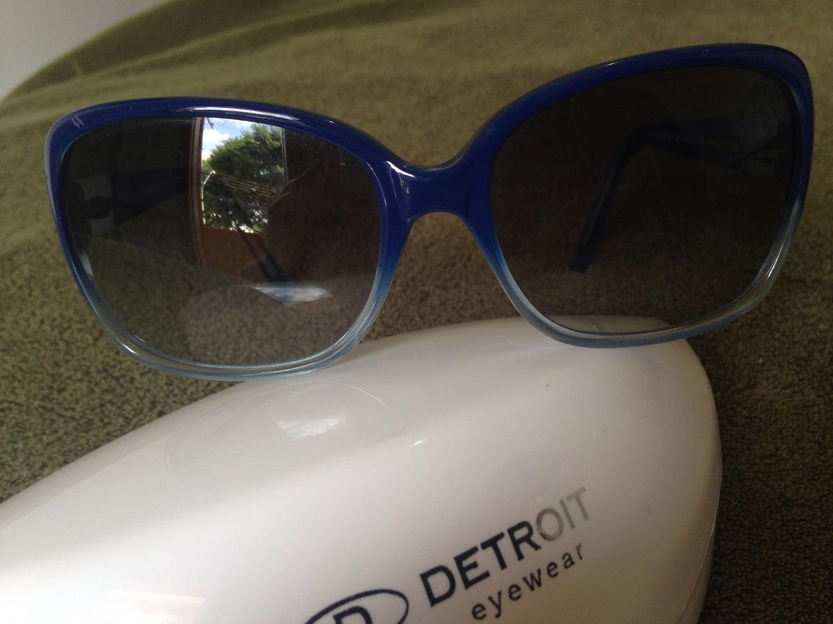 8c92dc52e Óculos De Sol - Detroit Eyewear Azul Feminino - R$ 145,00 em Mercado ...