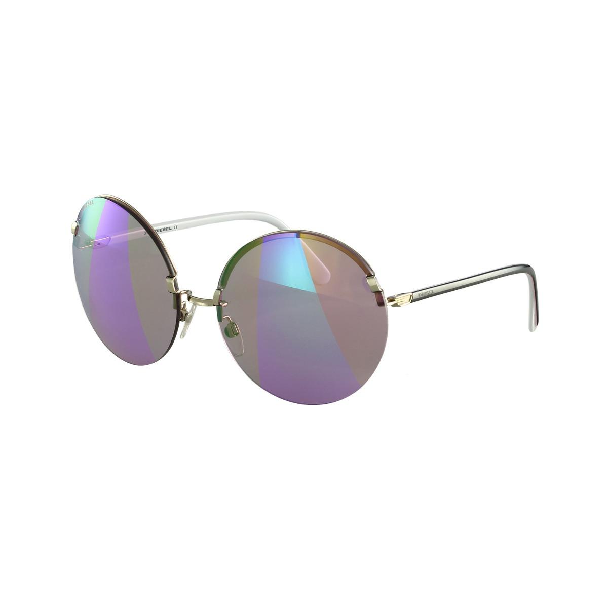 e1d21d560e9df Óculos De Sol Diesel Fashion Roxo - R  570,00 em Mercado Livre