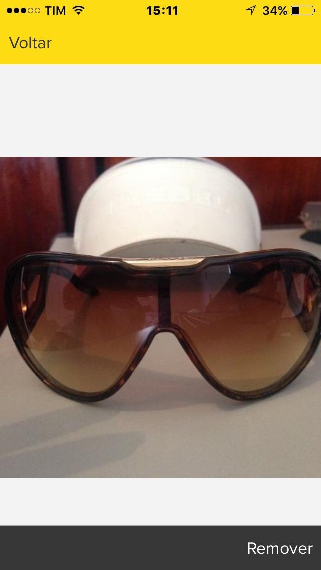 Óculos De Sol Diesel Usado 1 Vez - R  200,00 em Mercado Livre ecd20d851c
