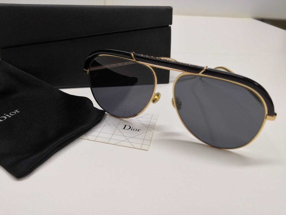 1ccdf5261 óculos de sol dior desertic 2m22k preto lacrado na caixa. Carregando zoom.