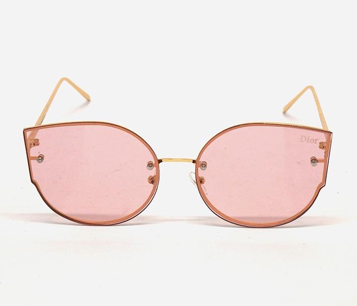 208c8733d04ce Óculos De Sol Dior Dourado E Rosa - R  39,00 em Mercado Livre