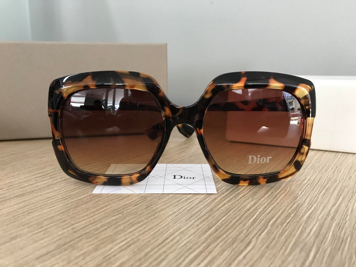 Óculos De Sol Dior Gaia Tartaruga - R  280,00 em Mercado Livre 3cbfbdd955