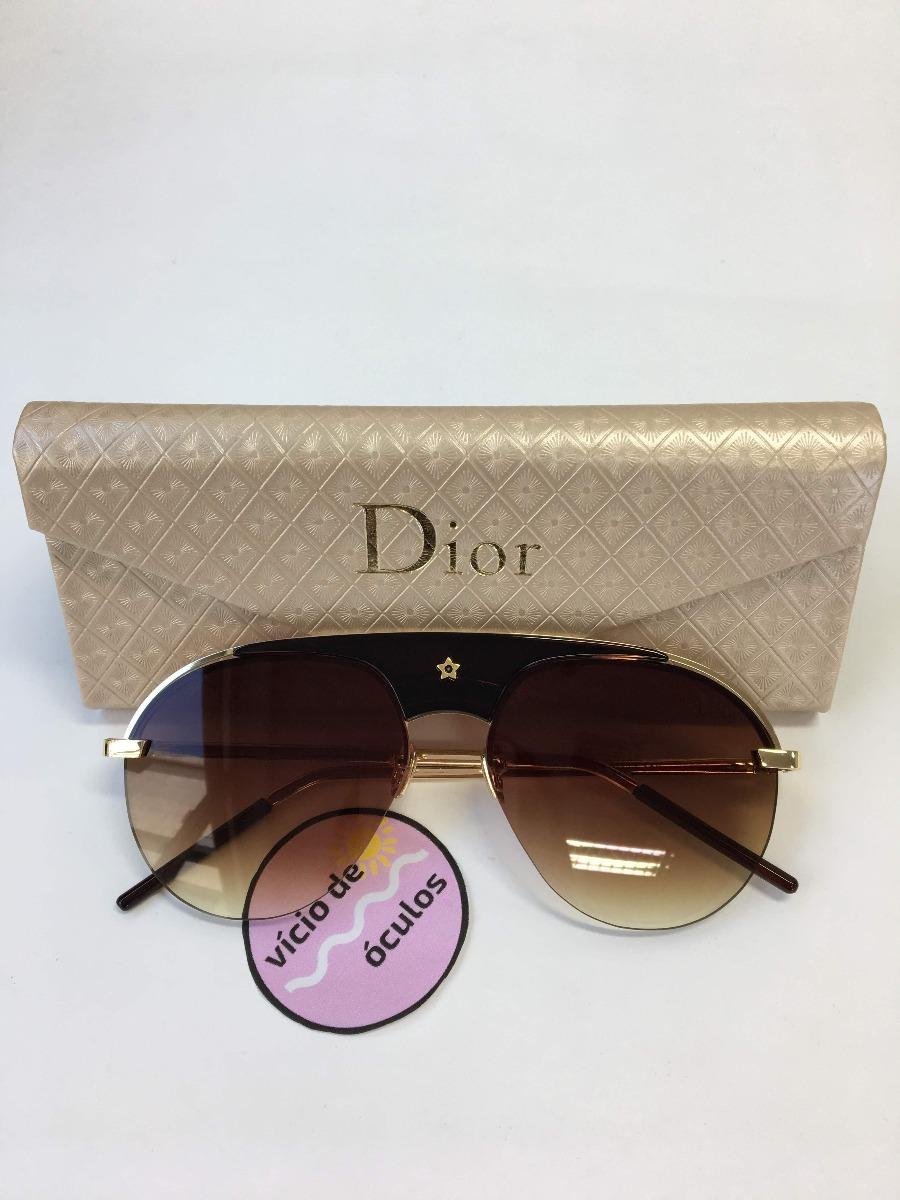3064429684298 óculos de sol dior marrom replica original proteção uv. Carregando zoom.