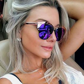 1ee71bdbc De Sol Dior Mirrored - Óculos no Mercado Livre Brasil