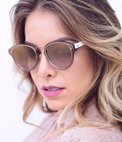Óculos De Sol Dior Nightfall Rosa Degradê Espelhad Original - R ... 056ab57951f46