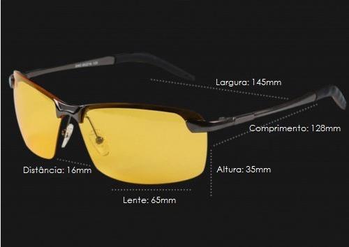 fdc844c8da57a Óculos De Sol Dirigir À Noite Lente Polarizada Esportes - R  120,00 ...