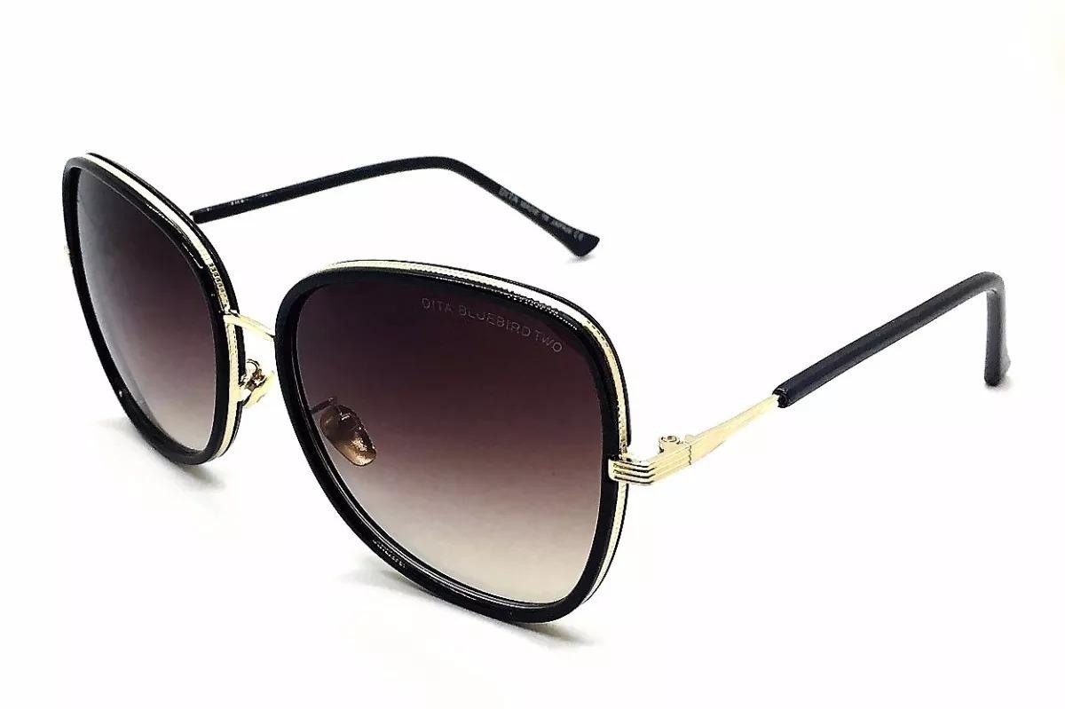 d954647a6706a óculos de sol dita bluebird two luxo preto ou marrom. Carregando zoom.