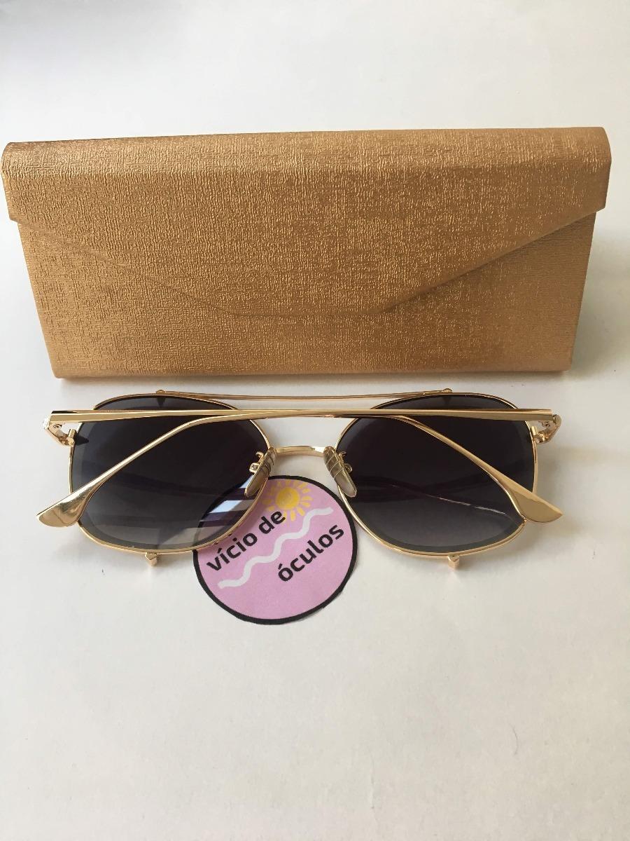 80dbf7ce0 Óculos De Sol Dita Talon Two Dourado Proteção Uv 400 - R$ 89,90 em ...