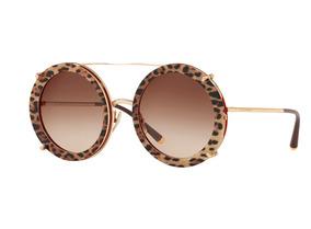 086738b21 Óculos De Sol Dolce Gabbana D G Dourado - Óculos no Mercado Livre Brasil