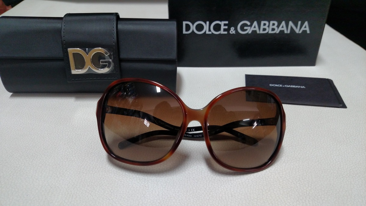 Óculos De Sol Dolce Gabbana - Dg4059 - R  808,00 em Mercado Livre 2ec6259435