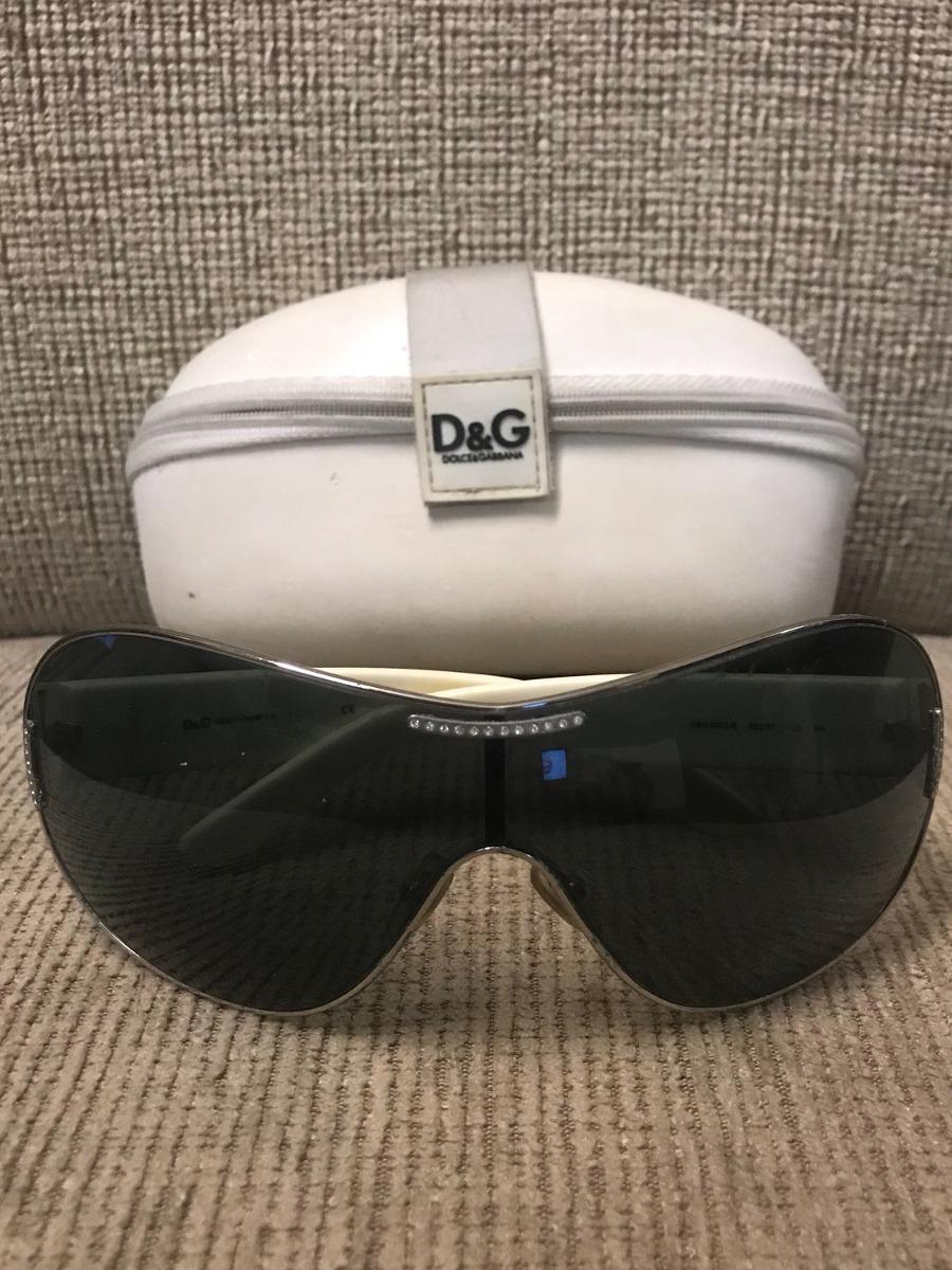cb489ef1f Óculos De Sol Dolce & Gabbana - Máscara - Usado - R$ 350,00 em ...