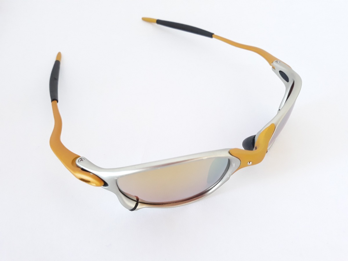 2a81e704c óculos de sol double xx metal 24k juliet penny squared lupa. Carregando  zoom.