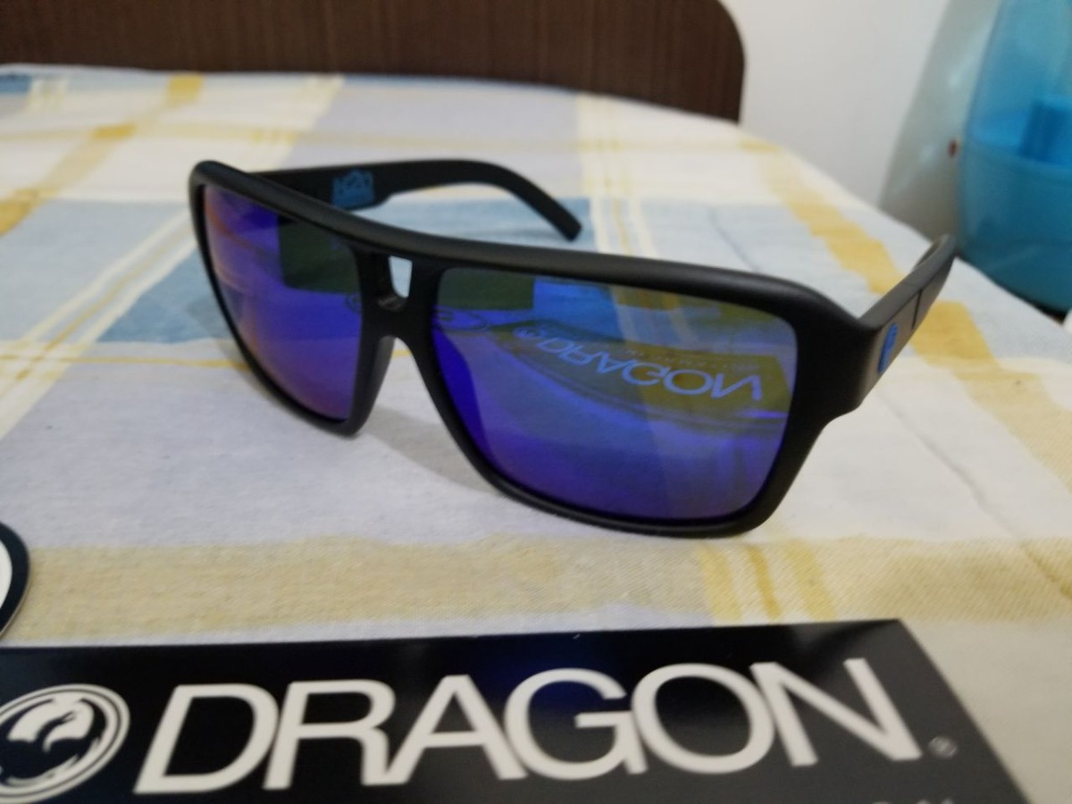 Óculos De Sol Dragon The Jam H2o - Matte black blue - R  320,00 em ... 5e527f7768