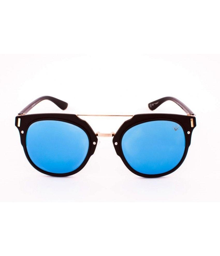 e4c5fa8f7408a Óculos De Sol Drop Me Las Retro Acetato Preto Fosco Lente - R  234 ...