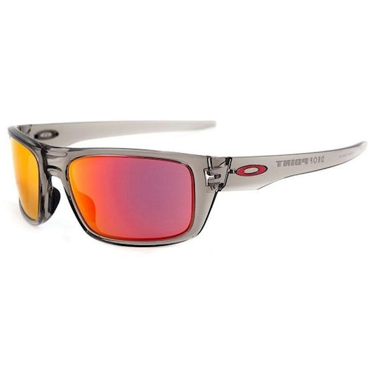 óculos de sol drop point grey ruby iridium oakley - original. Carregando  zoom. b95b1f528f