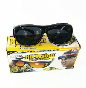 Óculos De Sol E Dirigir A Noite - Sobrepor Óculos Grau Hd - R  189 ... 71155e7fc2