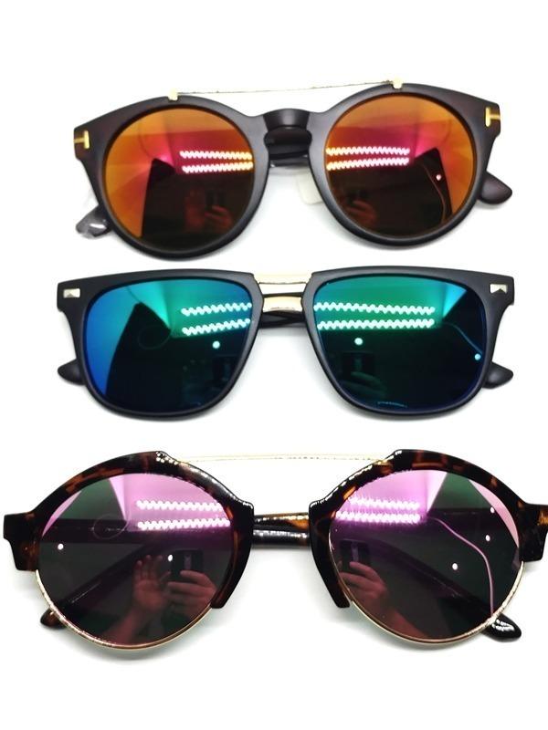 19aa368c7fac6 Óculos De Sol E Feminino Lote Com 10 P Entrega Atacado Top - R  120 ...