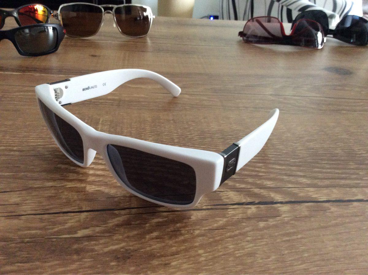 419dc16327b2a Óculos De Sol Ecko Branco Sem Uso - R  150,00 em Mercado Livre