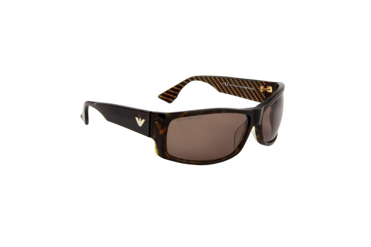 óculos de sol emporio armani 100% proteção u.v. tartarugado. Carregando  zoom. 3cc66de732