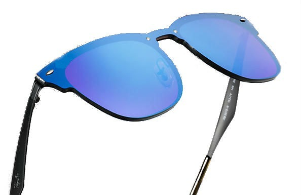 Óculos De Sol Escuro Espelhado Quadrado Masculino Feminino - R  39 ... 0a62c5781c