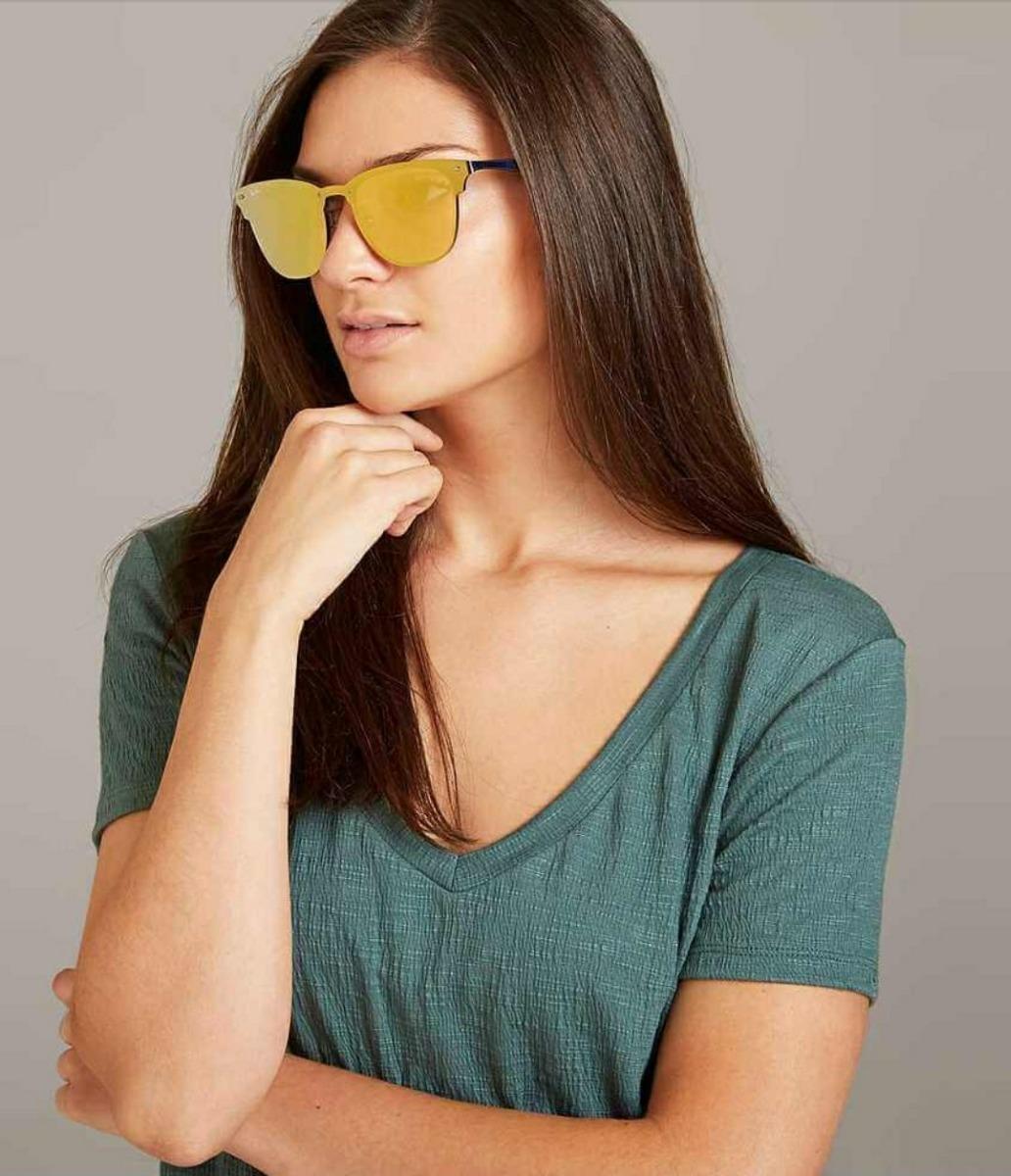 54a62225c3513 óculos de sol escuro feminino espelhado unissex marca famosa. Carregando  zoom.