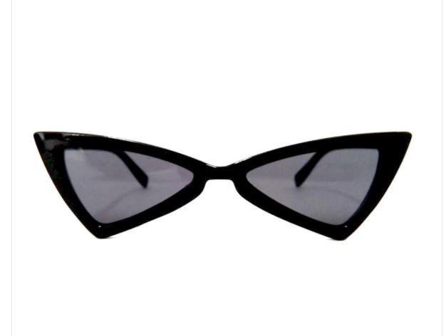 60e9380db2682 Óculos De Sol Escuro Gatinho Cat Eye Retrô Vintage 2018 Moda - R  29 ...