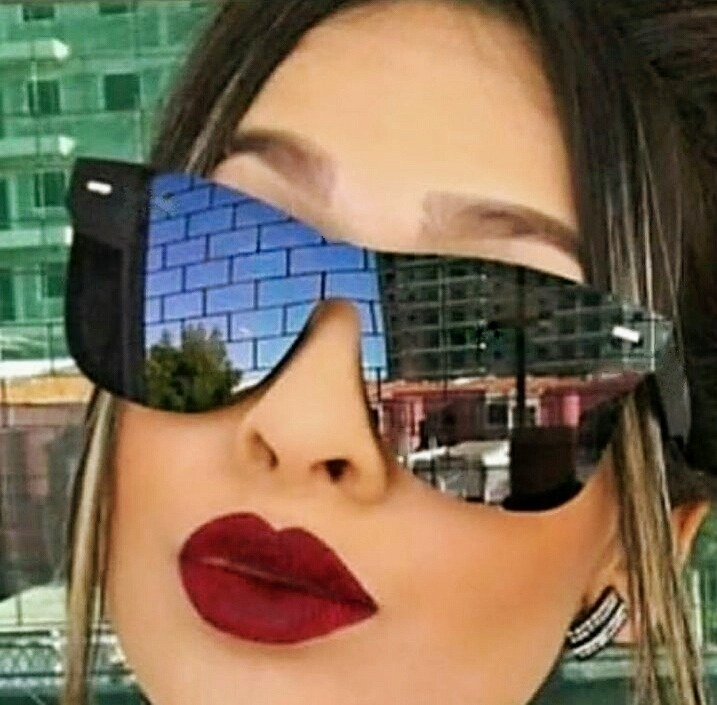 40d5ac318 Óculos De Sol Escuro Quadrado Masculino Feminino Clássico - R$ 120 ...