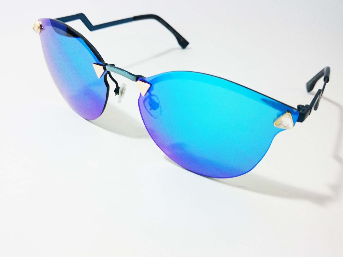 oculos de sol espelhado azul. Carregando zoom. 84b7819712