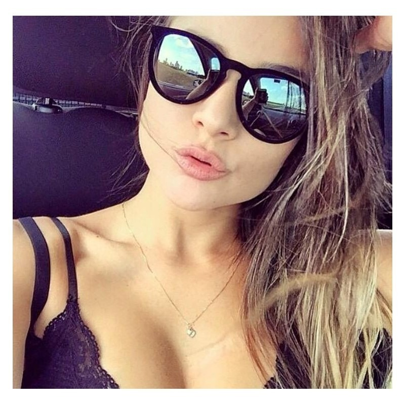 103bda422d9d1 óculos de sol espelhado da moda cinza preto aveludado 2019. Carregando zoom.