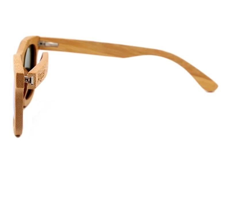 2337e6534 Óculos De Sol Espelhado De Madeira Bambu Azul, Verde E Rosa - R$ 89 ...