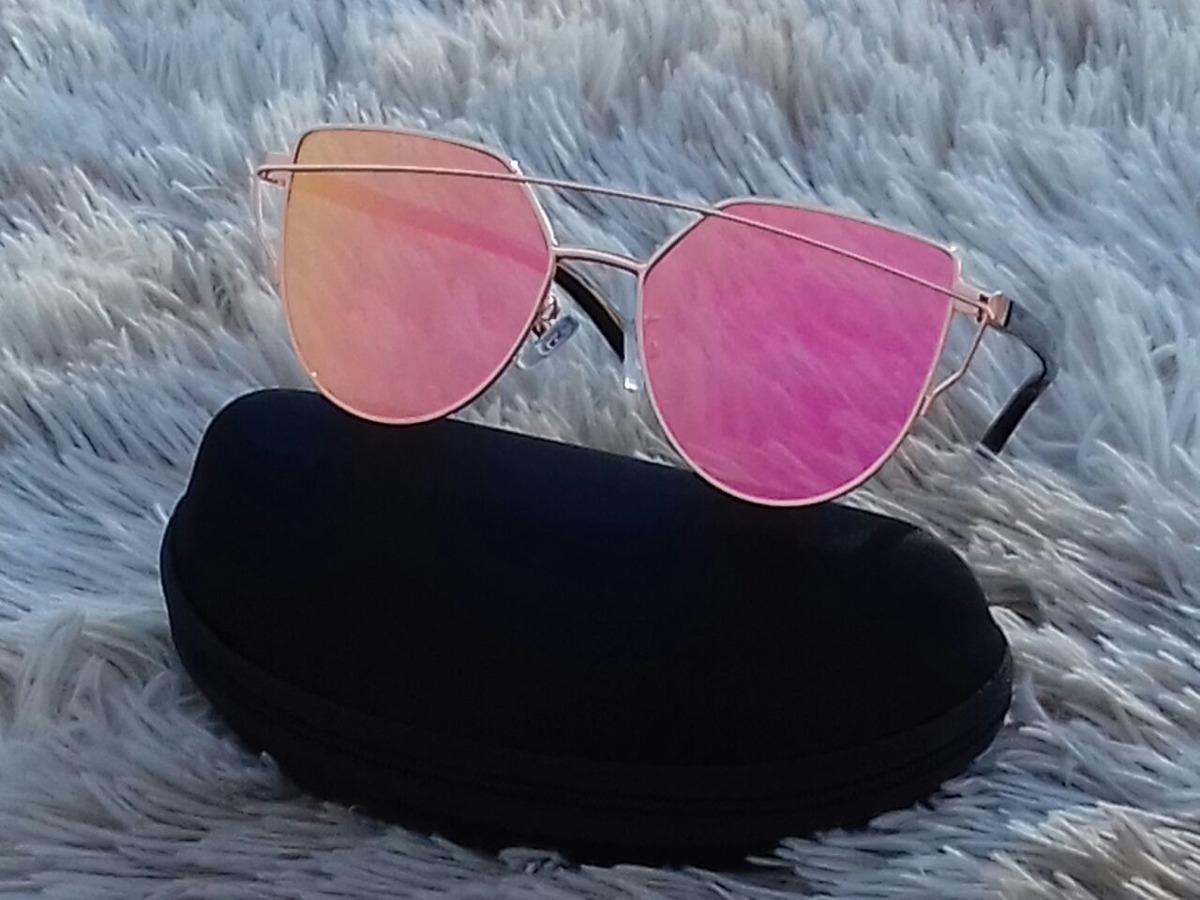 7ecc26820 óculos de sol espelhado feminino gato gatinho + case oferta. Carregando zoom .