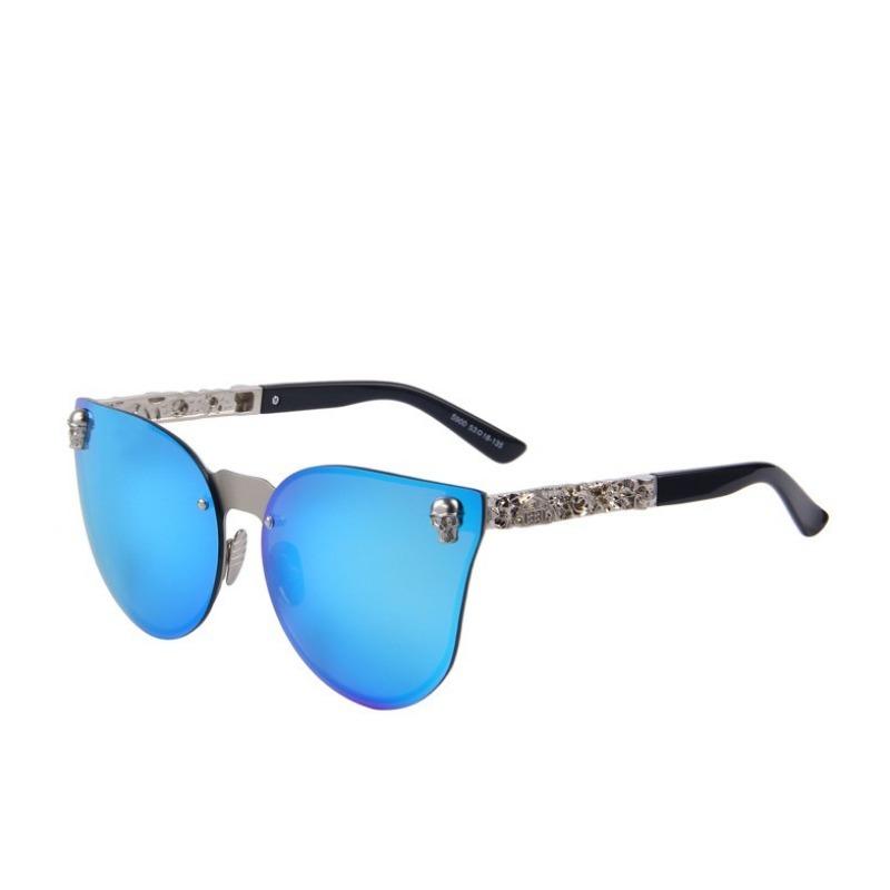 7b485bca6 Óculos De Sol Espelhado Feminino Lente Azul - R$ 79,90 em Mercado Livre