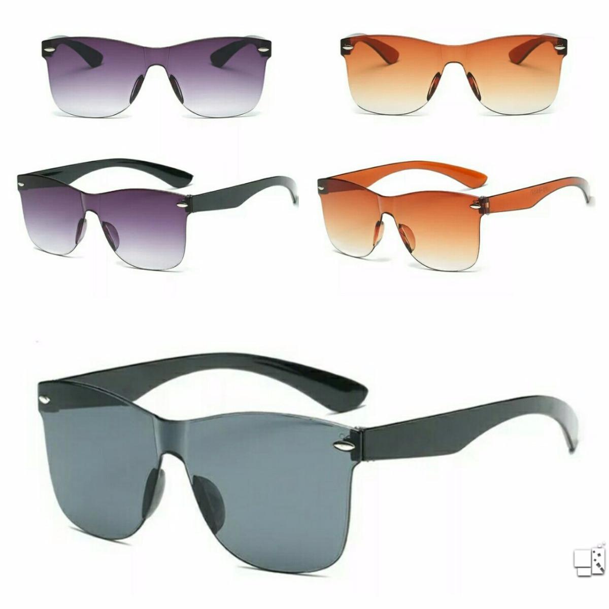 óculos de sol espelhado feminino masculino lente degradê top. Carregando  zoom. 9f0af0c4c0